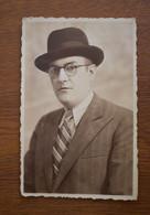F855 Man Atelier Romania Foto Silueta Titty Al. Trestioreanu Ploiesti 1943 - Fotografía