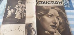 SEDUCTION /REVUE COQUINE /NUS FEMININS / - 1900 - 1949