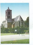 Braine Le Comte Eglise St Géry Terrain De Basket Ball   ( Carte Ayant Voyagé ) - Braine-le-Comte
