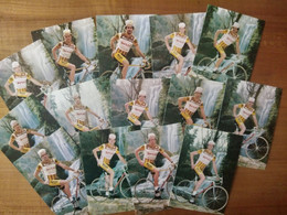 Cyclisme - 14 Cartes Publicitaires HUESO CHOCOLATES  1983 - Radsport