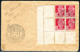 EX-M-21-05-04 COVER WITH THE BLOCK OF FOUR WITH THE CORNER'S FIELDS. - Covers & Documents