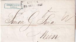 RUSSIE 1848 LETTRE DE ODESSA - ...-1857 Prephilately