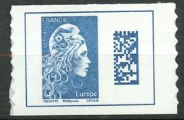 France - 2018 - Autoadhésif Neuf - Marianne D YZ Issue De Carnet- No AA1603A - Cote 10,00 Euros - Autoadesivi