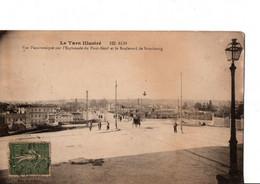 LE TARN ILLUSTRE. 122. ALBI. - Vue Panoramique Sur L'Esplanade Du Pont-Neuf Et Le Boulevard De Strasbourg. - Albi