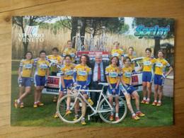 Cyclisme - Carte Publicitaire U C VITTORIO VENETO - SPRINT 1998 : Le Groupe - Cycling