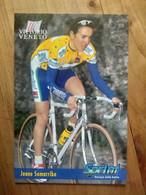 Cyclisme - Carte Publicitaire U C VITTORIO VENETO - SPRINT 1998 : SOMARRIBA - Cycling