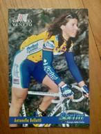 Cyclisme - Carte Publicitaire U C VITTORIO VENETO - SPRINT 1998 : BELLUTI - Ciclismo