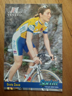 Cyclisme - Carte Publicitaire U C VITTORIO VENETO - SPRINT 1998 : ZOCCA - Ciclismo