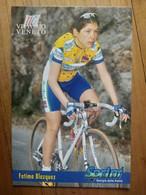 Cyclisme - Carte Publicitaire U C VITTORIO VENETO - SPRINT 1998 : BLASQUEZ - Ciclismo