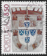 Portugal – 1981 Tiles 8.50 Used Stamp - Used Stamps