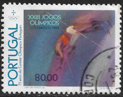 Portugal – 1984 Olympic Games 80.00 Used Stamp - Used Stamps