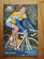 Cyclisme - Carte Publicitaire U C VITTORIO VENETO - SPRINT 1998 : CRISTOFOLI - Cycling