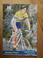 Cyclisme - Carte Publicitaire U C VITTORIO VENETO - SPRINT 1998 : D'ETTORRE - Ciclismo