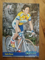 Cyclisme - Carte Publicitaire U C VITTORIO VENETO - SPRINT 1998 : Sonia ROCCA - Ciclismo