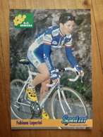 Cyclisme - Carte Publicitaire G C MIMOSA - SPRINT 1998 : LUPERINI - Ciclismo