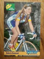 Cyclisme - Carte Publicitaire G C MIMOSA - SPRINT 1998 : BONANOMI - Ciclismo
