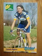 Cyclisme - Carte Publicitaire G C MIMOSA - SPRINT 1998 : RIGHETTO - Ciclismo