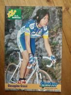 Cyclisme - Carte Publicitaire G C MIMOSA - SPRINT 1998 : GRASSI - Ciclismo