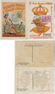 Brazil 1953 And 1955 2 Maximum Card National Wheat Festival - Tarjetas – Máxima