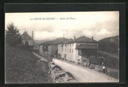 CPA La Croix-Blanche, Route De Cluny - Cluny