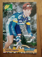 Cyclisme - Carte Publicitaire G C MIMOSA - SPRINT 1998 : PREGNOLATO - Ciclismo