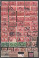 USA , Back Of The Book , Steckkarte Mit Alten Marken - Unclassified