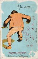 UMORISTICA - FORMATO PICCOLO (RETRO INDIVISO) - VIAGGIATA 1904 - (rif. Q74) - Humor