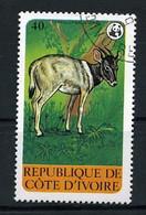 CÔTE -D' IVOIRE - YT N° 516 Animaux En Péril.Cephalophe. - Ivory Coast (1960-...)