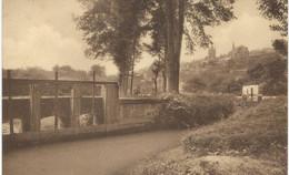 THUIN : La Biesmelle - Côté Sud De La Ville - CPA PEU COURANTE - Cachet De La Poste 1939 - Thuin