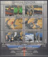 FÄRÖER Block 25, Gestempelt, Die Entstehung Der Färöer-Inseln, 2009 - Faroe Islands