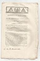 Bulletin Des Lois De La République Française N° 76,loi: Compétence Du Tribunal Révolutionnaire ,l'an III, Frais Fr 1.75e - Decrees & Laws