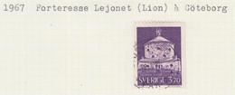 SUEDE USED YVERT 556, 557 & 557a Forteresse Lejonet & Libre-échange - Used Stamps