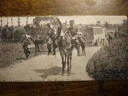 Transport De Blessés En Cacolet    (pliure Quasi Invisible) - Guerra 1914-18