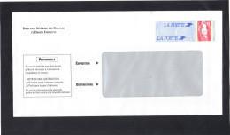 France . Entier Enveloppe TSC Pour Les Douanes Françaises , Grande Fenêtre . Neuve (petit Point De Colle Sur La Patte) L - Prêts-à-poster: Other (1995-...)