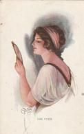 The Eyes ---Femme Au Miroir--scan - Femmes