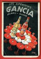 Petit Carnet Publicitaire - Bloc-notes - Les Apéritifs Gancia - Vermouth Blanc & Américain Rouge - Alcool Apéritif - Pubblicitari