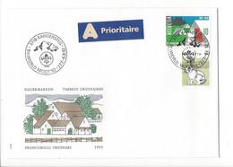 27314 - Kandersteg  9th WORLD MOOT 92 - Storia Postale
