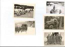 Lot De Photos-soldats Francais En Allemagne - Documents