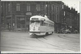 Charleroi - Photo De Tram - Le N°60 (tramway) à Situer, (14 X 9 Cm) - Tramways