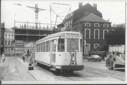 Charleroi - Photo De Tram - Le N°64 (tramway) à Situer, (14 X 9 Cm) - Tramways