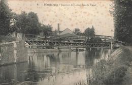 MONTARGIS : JONCTION DU LOING DANS LE CANAL - Montargis