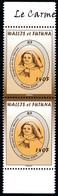 WALLIS ET FUTUNA 2009 - Yv. P719 **  - Paire Bdf Carmel De Sainte-Thérèse RRR  ..Réf.W&F23578 - Unused Stamps