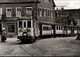 ! Ansichtskarte Müllheim Badenweiler, Eisenbahn, Tram, Schmalspurbahn - Trenes