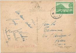 A6782 Delphes Delphi Delfoi Delfi - Nice Stamps Timbres Francobolli / Viaggiata 1963 - Grecia