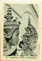 Chromos - Café Maison Deloraine à Béthune (59) & Arras (62) - 22 Cambodge - Types De Danseuses - Thee & Koffie