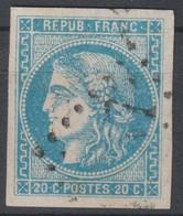 Bordeaux N°46 Oblitéré - 1870 Ausgabe Bordeaux