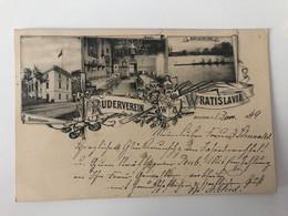 Poland 212 Vroclav Breslau Wroclaw 1899 Ruderverein Wratislavia Bootshaus Saal - Polonia