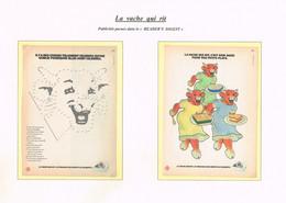 """Centenaire """" LA VACHE QUI RIT """" - Publicités Parues Dans Le """" READER'S DIGEST """" - Le Lot De 4 - Advertising"""