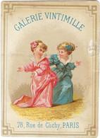 Chromo Bognard Bog2-35 - Petit Personnages - Galerie Vintimille - Calendrie 1876 - Artis Historia
