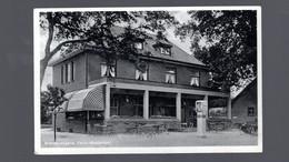 1417-VENLO-cafe Restaurant BACHUS -pompe Essence  ESSO Benzine Pomp- Grens - Venlo